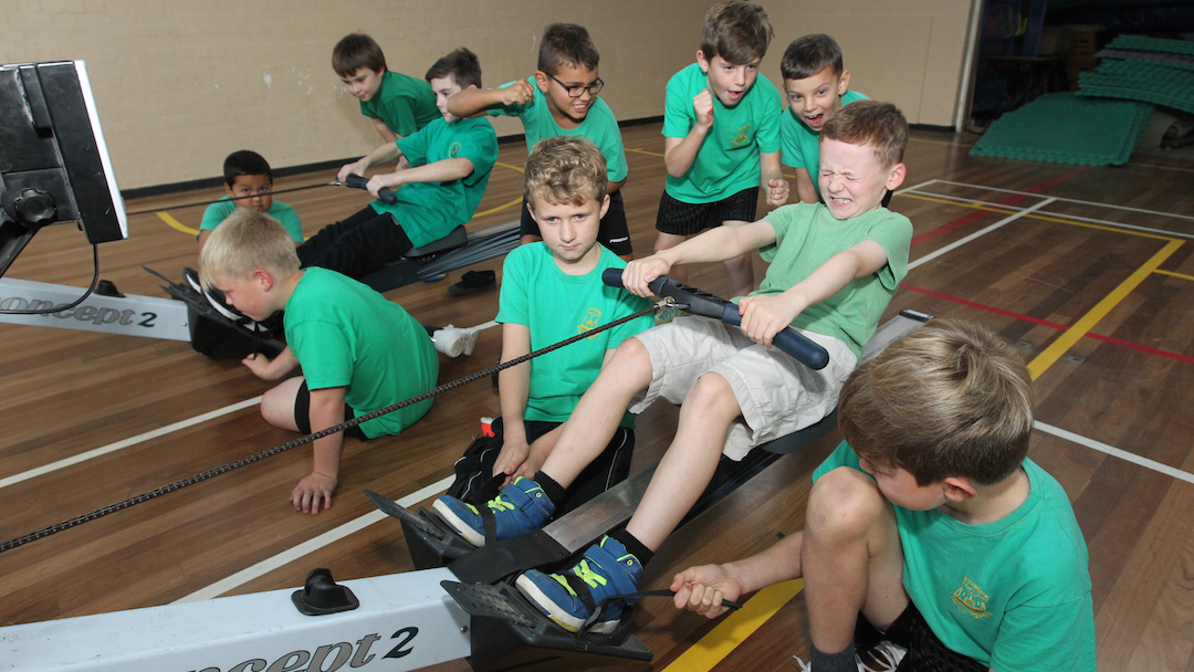 Dandelion Time - one of the many schools taking part in our annual Indoor Rowathon - KM 8