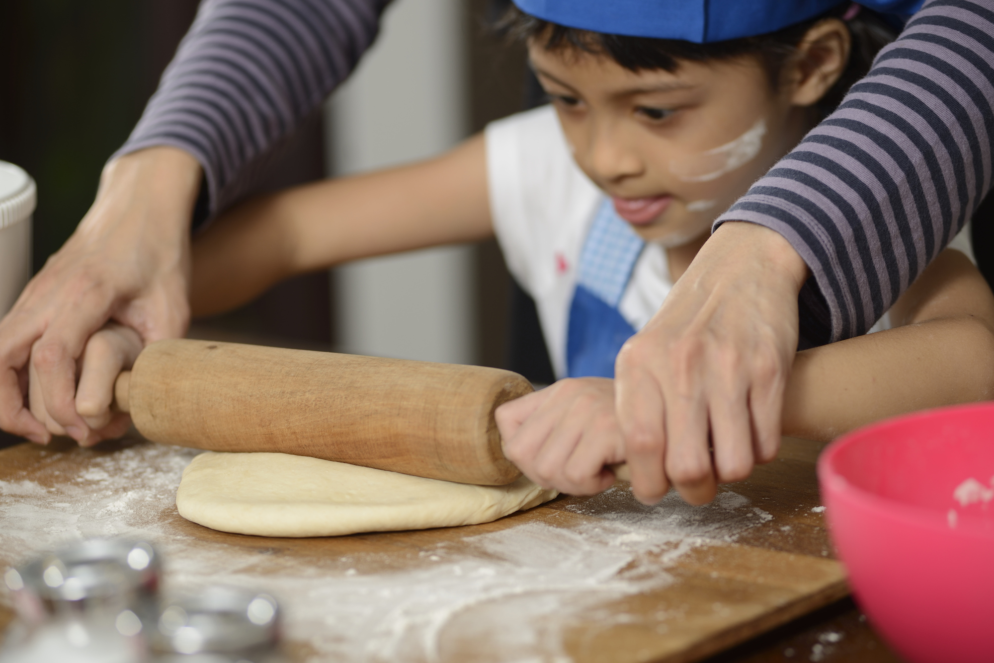 We help neglected children build confidence by learning to cook. We are a Kent charity for children's mental health.