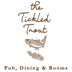 tickled trout logo