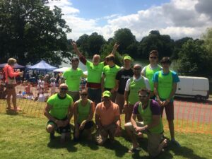 Dandelion Time team at Dragonboat Race July 2016