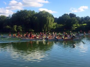 Dragon Boat Race Mote Park July 2016
