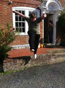 Danny Jumping for Joy