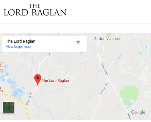 Lord Raglan map