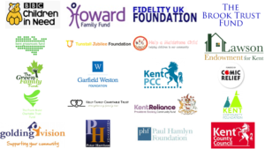 List of key funders for Dandelion Time, one of the leading Kent charities for children's mental health